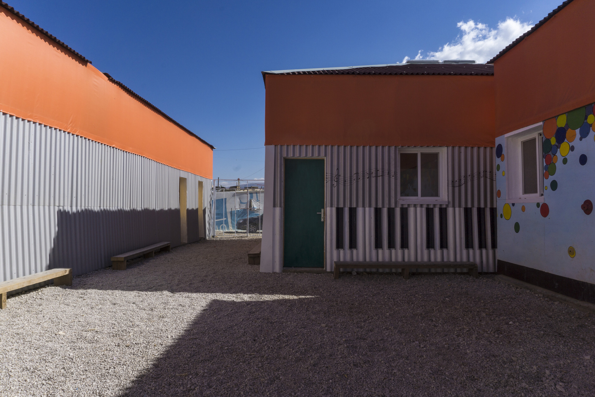 With The Jarahieh Refugee School, CatalyticAction Demonstrates The True  Potential Of Temporary Structures, Courtesy