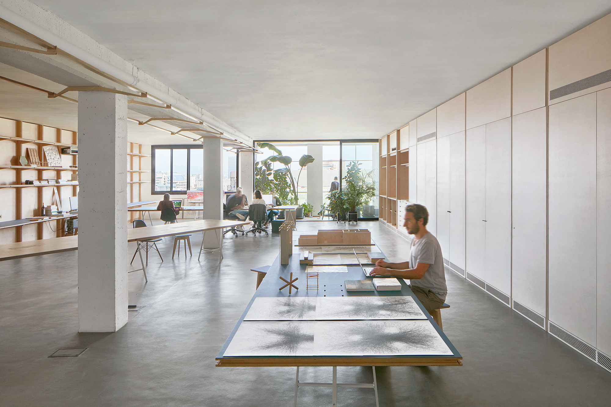 Co working office appareil archdaily for Office design archdaily
