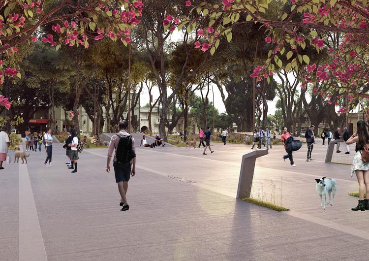 Conoce el primer lugar en la remodelación de Plaza 19 de Abril de la Ciudad de Treinta y Tres, Cortesía de Equipo Primer Lugar