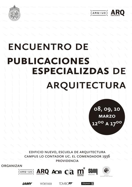 Encuentro de Publicaciones Especializadas de Arquitectura, Rocío Camacho