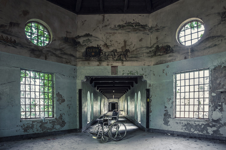 These Images of Abandoned Insane Asylums Show Architecture That Was Designed to Heal, Courtesy of Matt Van der Velde