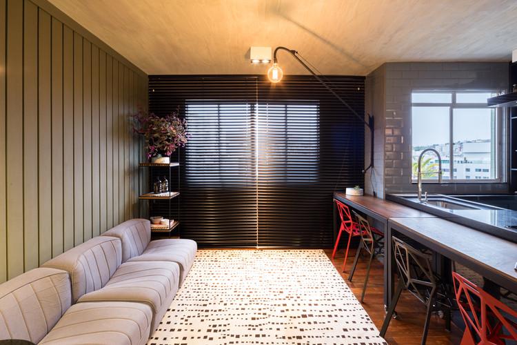 Apartamento Buritis / Pedro Haruf, © Gabriel Castro / REVERBO