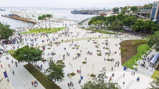 Luiz Paulo Conde Waterfront Promenade / B+ABR Backheuser e Riera Arquitetura