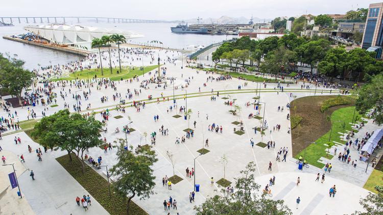 Urbanização da Orla Prefeito Luiz Paulo Conde - Boulevard Olímpico / B+ABR Backheuser e Riera Arquitetura, © Miguel As