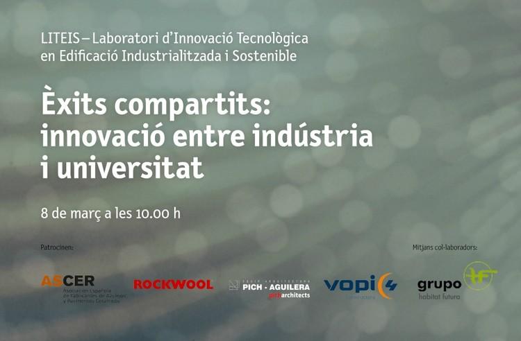 Jornada 'Éxitos compartidos: innovación entre industria y universidad', jornada catedras arquitectura