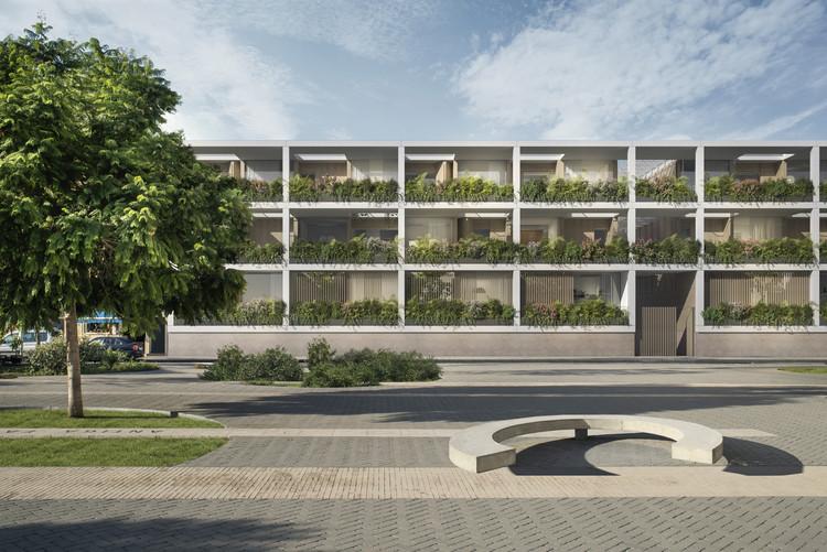 MESURA + TOI T, finalistas en concurso para arquitectos emergentes en España, Cortesía de MESURA