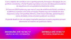 Concurso de Ideias para Estudantes de arquitetura da Projetar.org #020 Itinerante