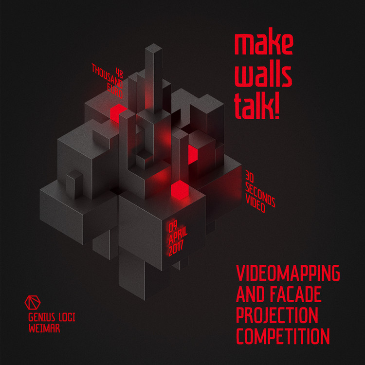 Open Call: Genius Loci Weimar Festival for Video Mapping & Facade Projection