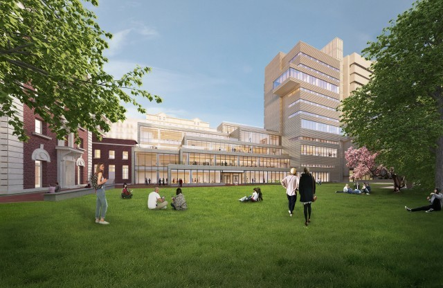 Barnard College Releases SOM Design for New Milstein Center, Courtesy of Barnard College