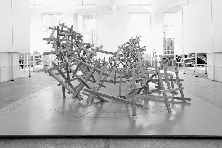 'Ditebius Torus': un pabellón de madera que utiliza herramientas de diseño y fabricación digital, Cortesía de Matias Imbern