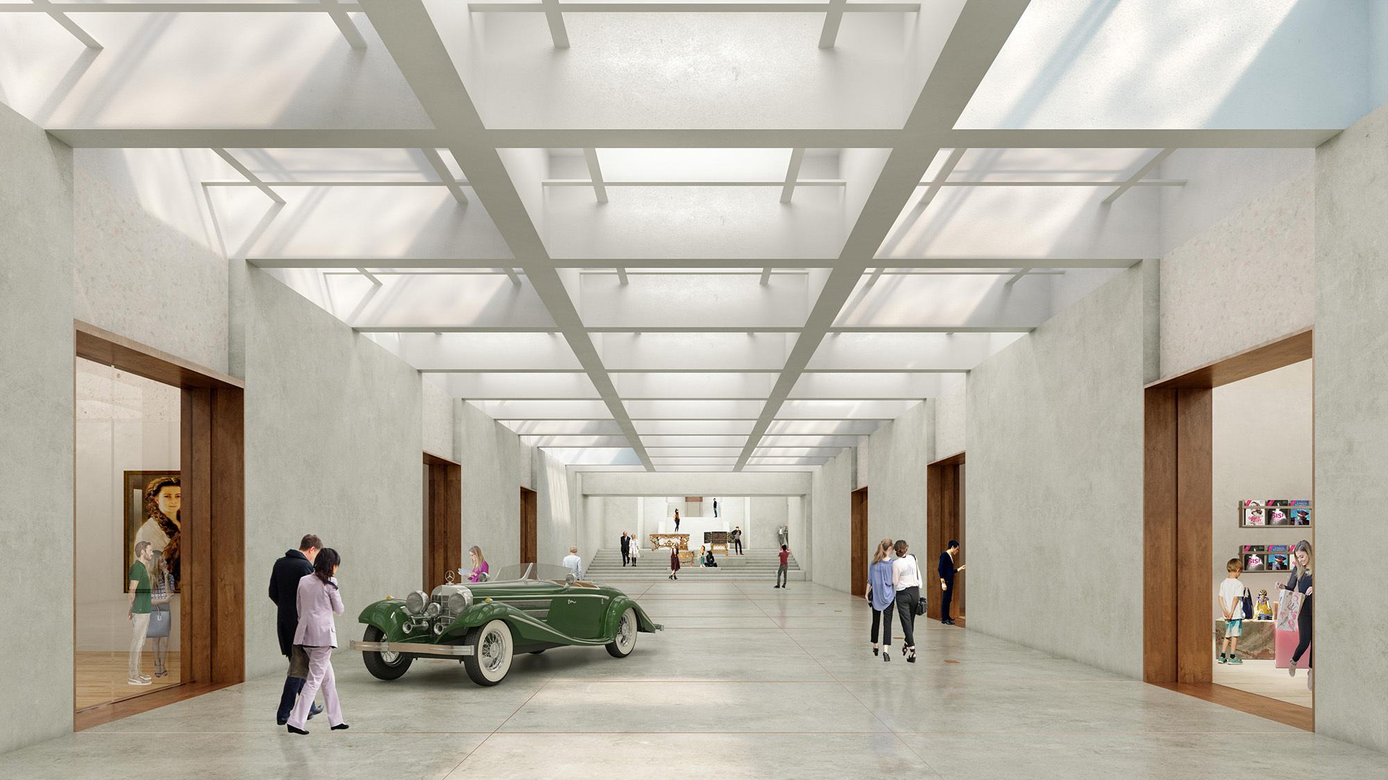 Museum Entry Foyer : Apeldoorn s renowned museum paleis het loo to be expanded