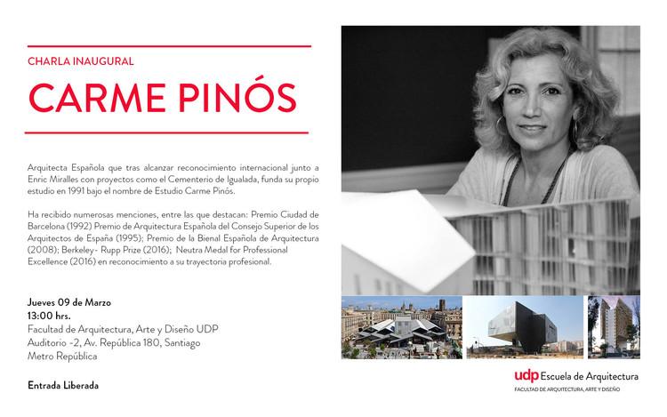 Charla Inaugural UDP: Carme Pinós