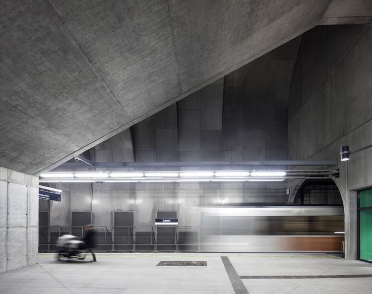 Estación de metro Løren / Arne Henriksen Arkitekter + MDH Arkitekter, © Ivan Brodey