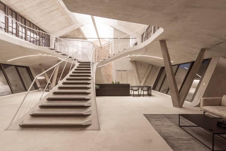 Loft Panzerhalle / Smartvoll Architekten ZT KG , © Tobias Colz