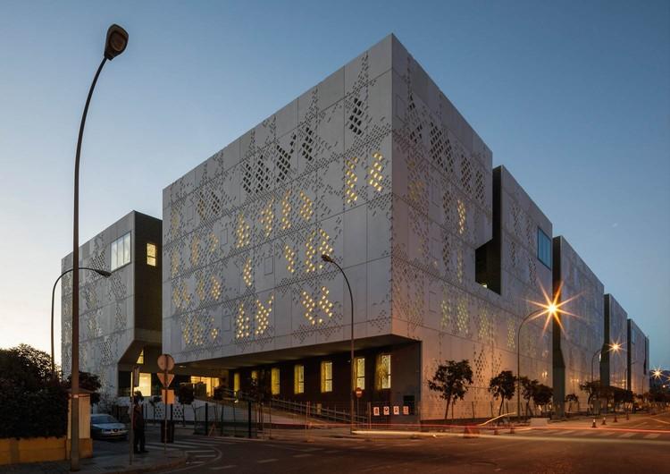 Construcción del Palacio de Justicia de Mecanoo y Ayesa se acerca a su fin en Córdoba, © Fernando Alda