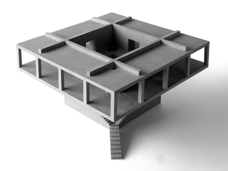 10 Ideas for Presenting Your Project With Concrete Models, Solo House / Pezo von Ellrichshausen. Image © Pezo von Ellrichshausen
