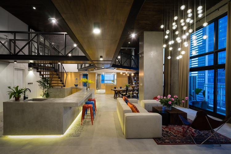 Party Apartment / Nghiêm Phong + Đào Thành, © Quang Tran