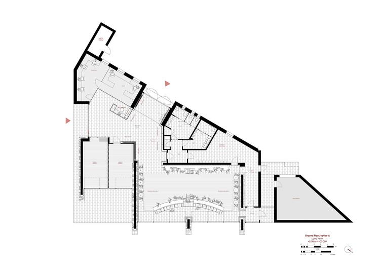 Stag 39 s leap wine cellar winery visitor center bc estudio for Wine cellar floor plans