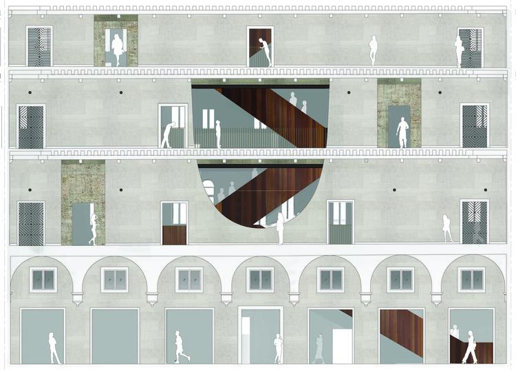 5 Modos de representar a arquitetura (antes de construí-la), Fachada © OMA