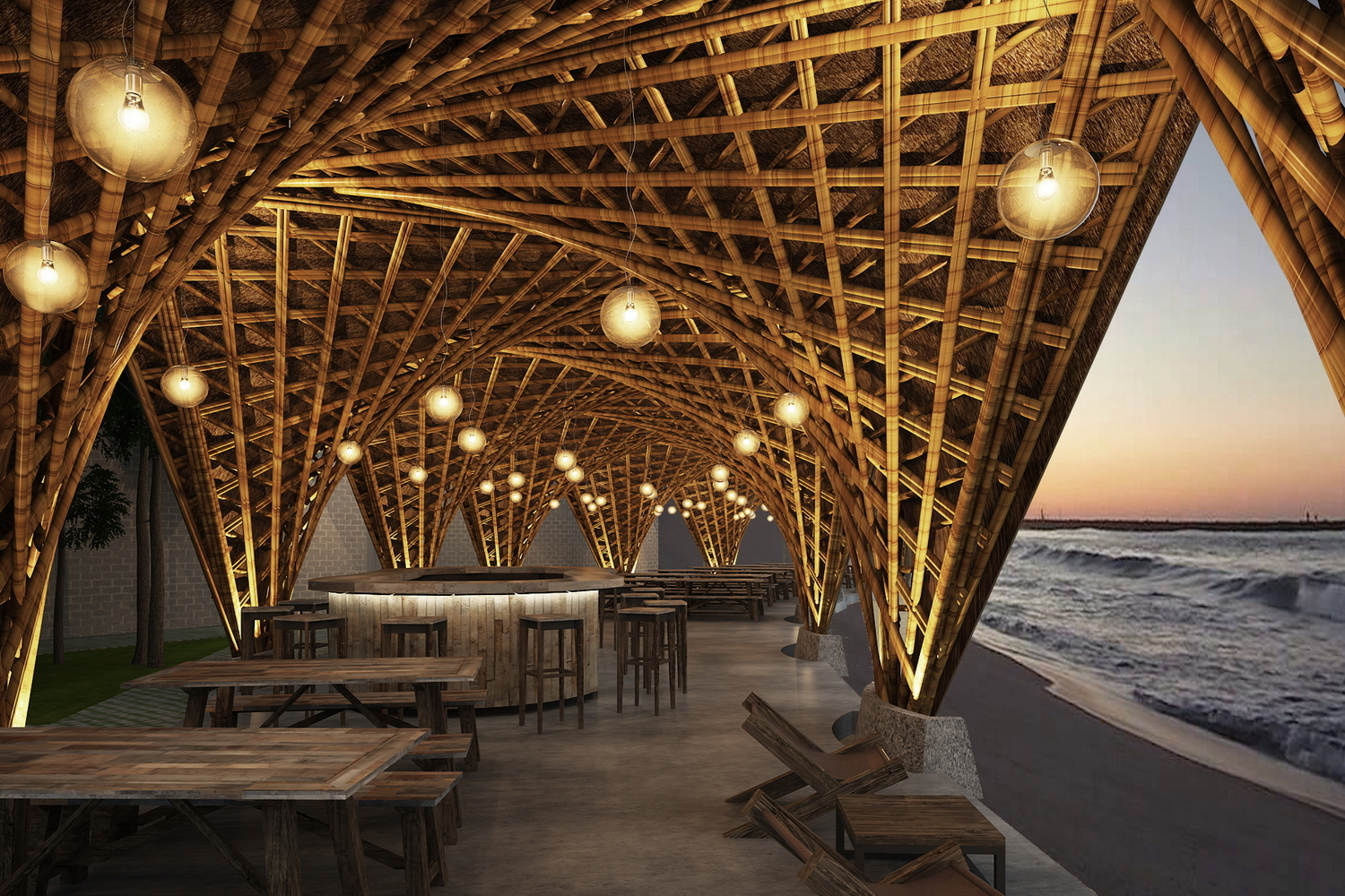 Castaway island resort vtn architects archdaily