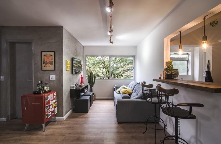 Apartamento Vila Madalena / LCAC Arquitetura, © Guilherme Pucci