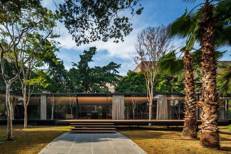 Residência C.J. / Andrade Morettin Arquitetos Associados, © Nelson Kon