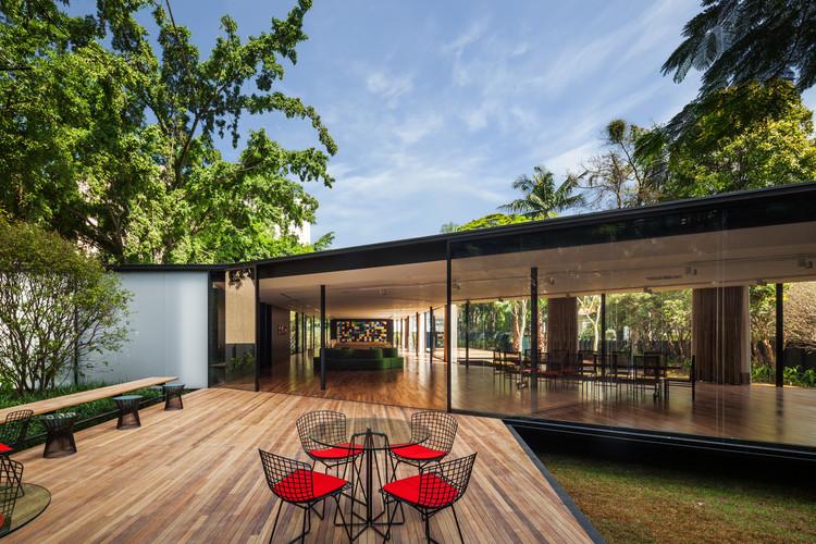 Casa C.J. / Andrade Morettin Arquitetos Associados, © Nelson Kon