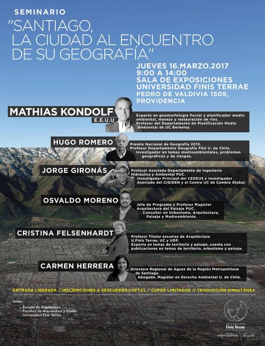 Seminario 'Santiago, la ciudad al encuentro de su geografía'