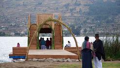 Muelle y mirador 'Kaymanta': arquitectura participativa en Otavalo, Ecuador
