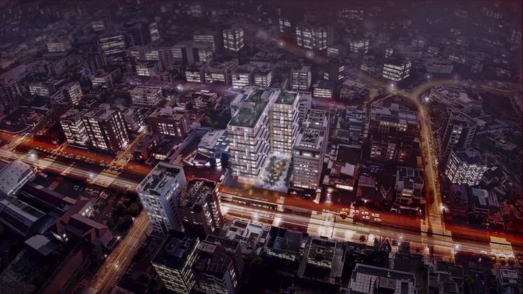 Philippe Starck y Arquitectonica buscan transformar el paisaje urbano de Quito, Atelier, diseñado por Arquitectónica y U&S. Image © Uribe & Schwarzkopf