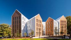Moradia Estudantil Olympia Place / Holst Architecture + DiMella Shaffer