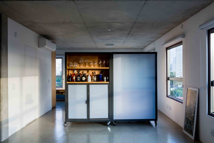 Apartamento Joaquim Guarani / MARCOZERO Estudio, © Pedro Napolitano Prata