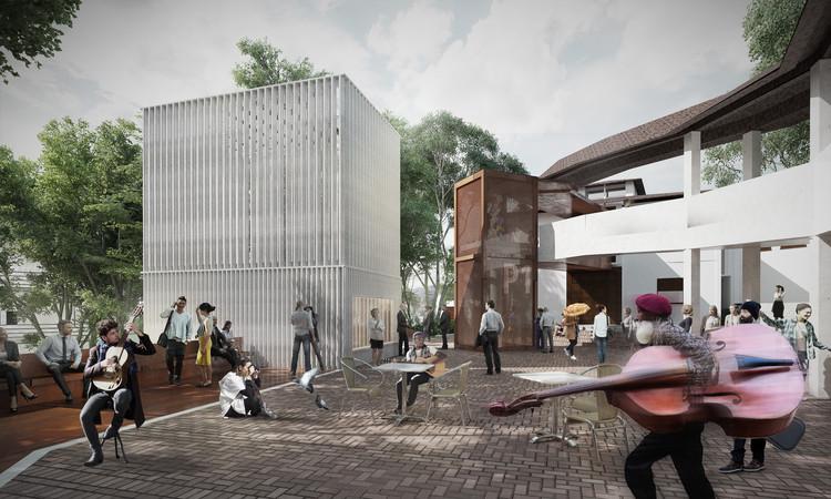 MOBO Architects, finalista del nuevo edificio de prácticas musicales de Universidad de Los Andes, Cortesía de MOBO Architects