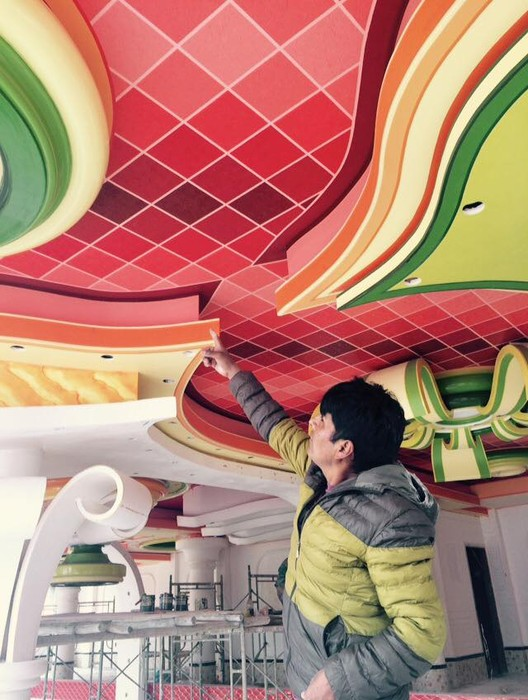 Freddy Mamani dicta curso gratuito de pintura en Bolivia, Freddy Mamani. Image Cortesía de Freddy Mamani [Facebook]