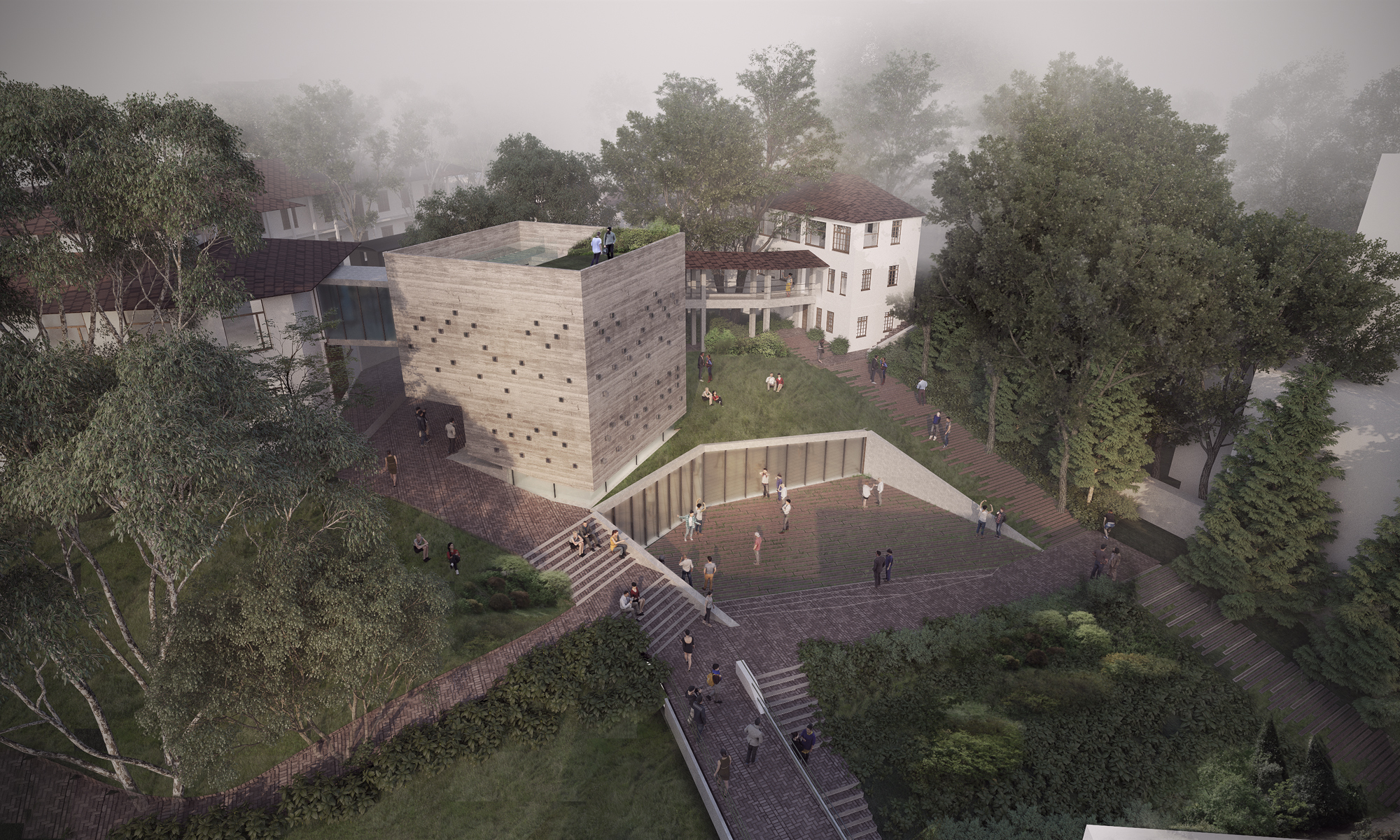 Arquitectura en estudio finalista del nuevo edificio de - Estudios de arquitectura en cordoba ...