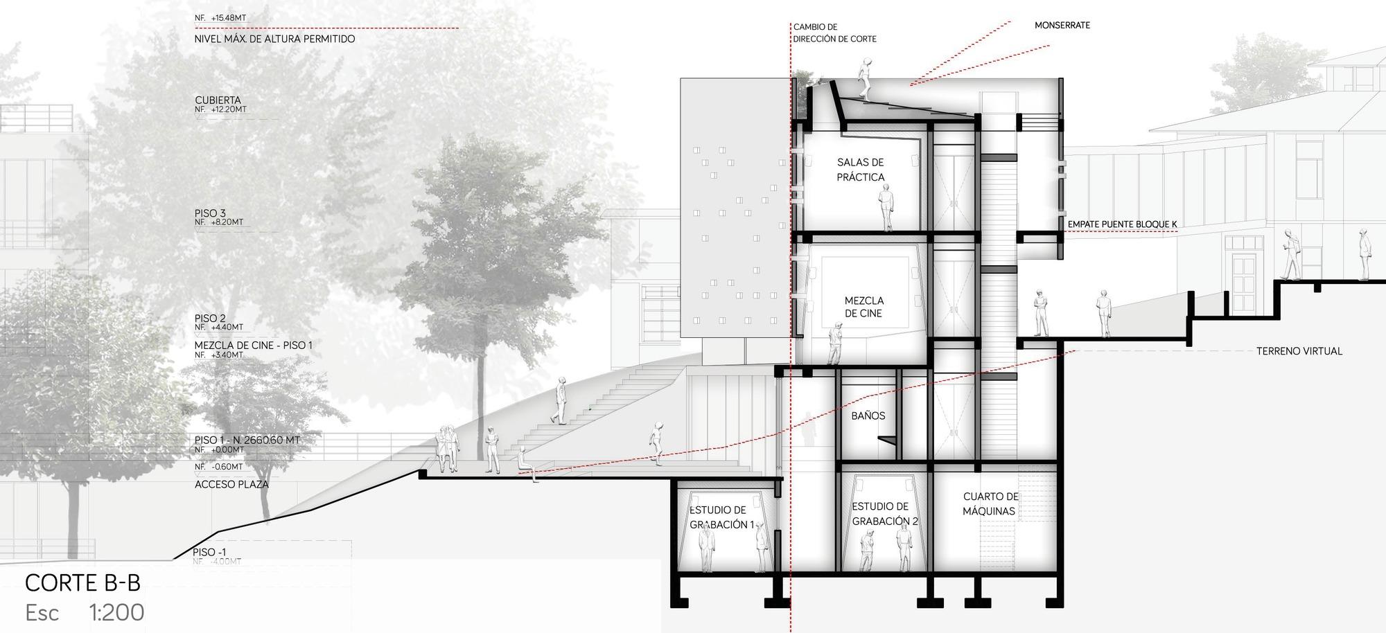 Galer a de arquitectura en estudio finalista del nuevo for Practicas estudio arquitectura
