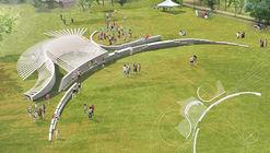 knitknot architecture presenta MARL, segundo lugar en City of Dreams Pavilion de Nueva York