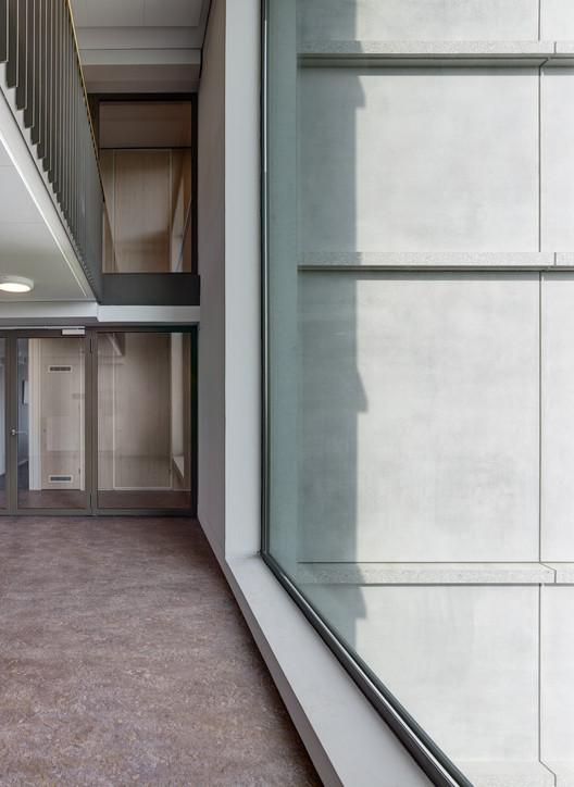 نمونه عکس معماری کاملا پیش ساخته یک ساختمان خوابگاه