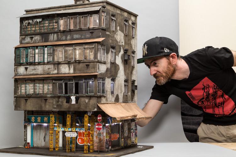 Joshua Smith, el miniaturista que construye complejos mundos a escala 1:20, © Andrew Beveridge / ASB Creative Instagram
