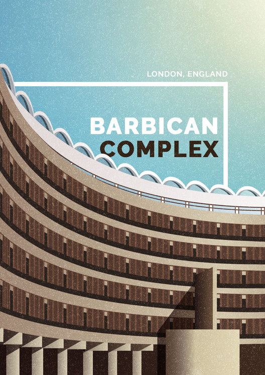 Unique Brutalism - Celebrating 35 Years of the Barbican, Barbican Complex, London. Image Courtesy of GoCompare