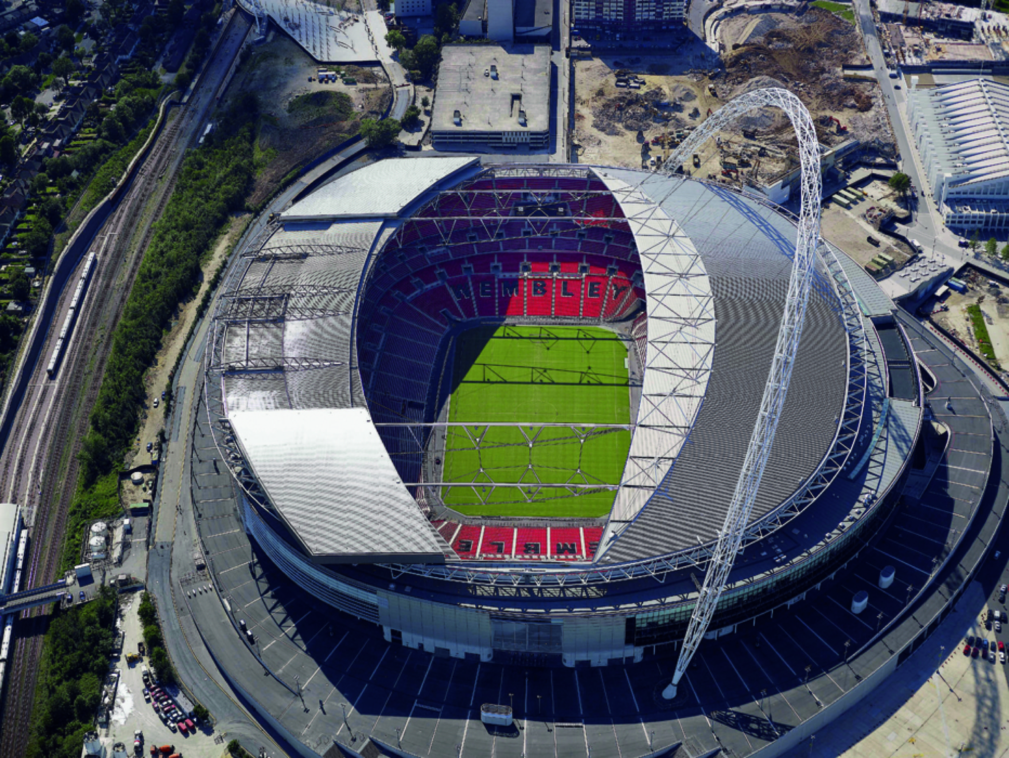 Wembley National Stadium Foster Partners Archdaily