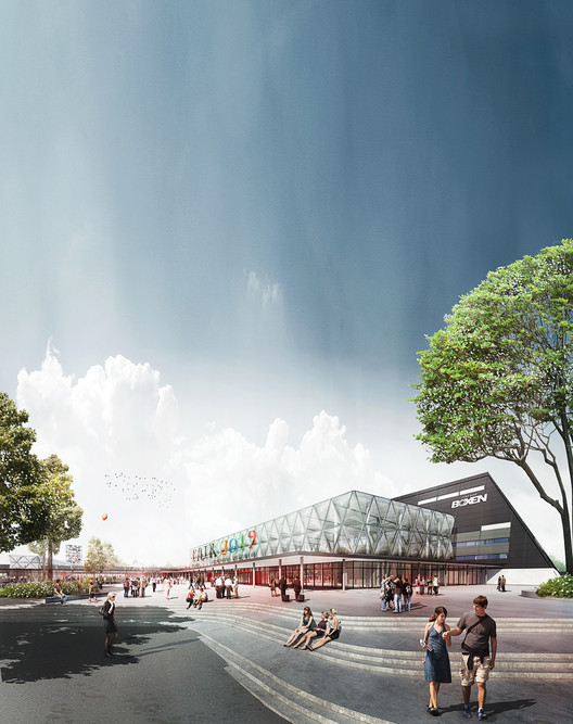 Denmark's Largest Exhibition Center to Be Expanded by Schønherr and Cubo Arkitekter, Courtesy of Cubo Arkitekter