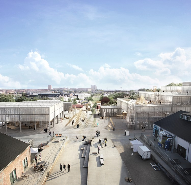 Team Led by Emerging Architects Vargo Nielsen Palle Beats Out BIG, SANAA in New Aarhus School of Architecture Competition, © Vargo Nielsen Palle, ADEPT and Rolvung & Brøndsted Arkitekter