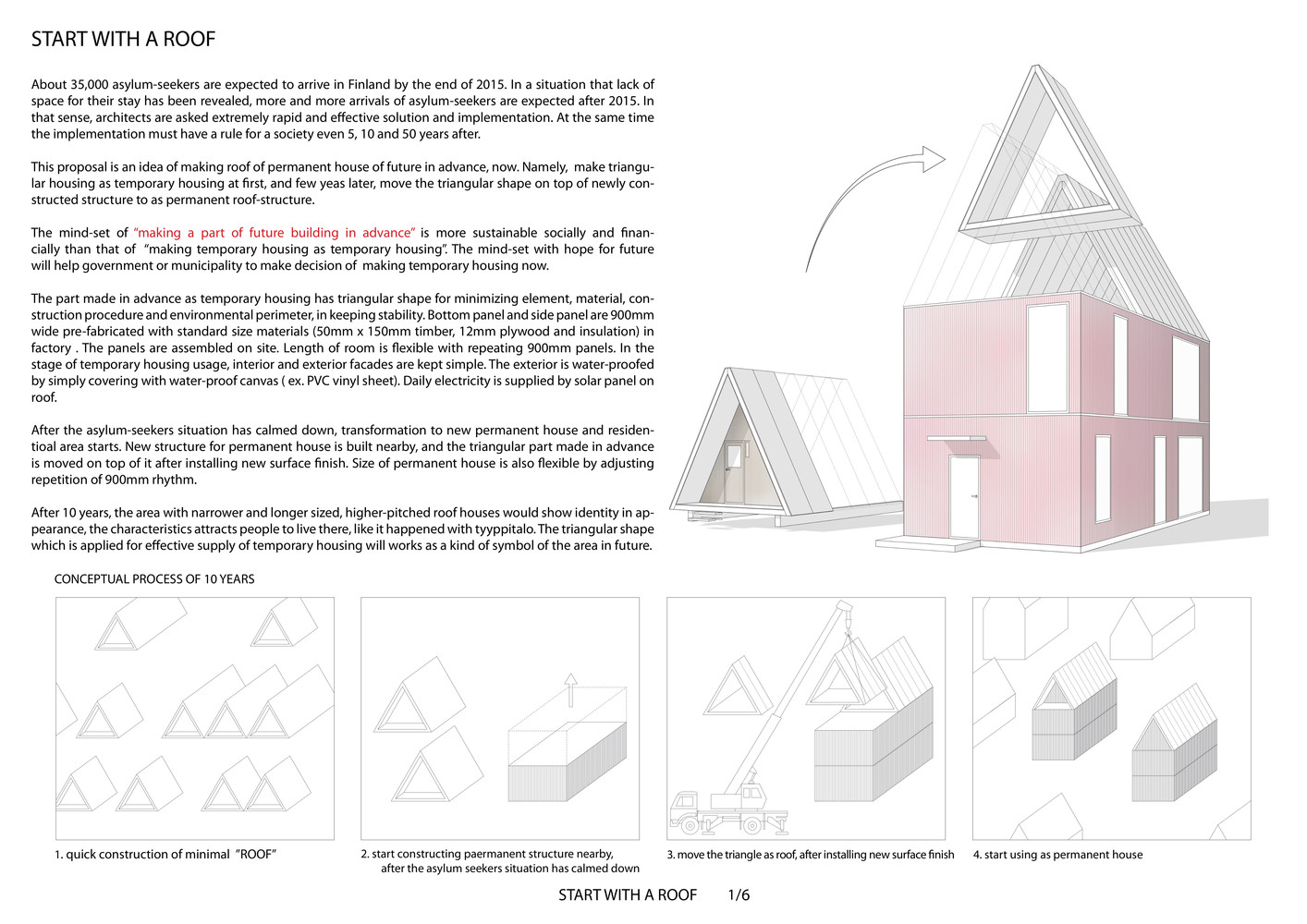 Gallery Of 7 Architectural Solutions For Asylum Seekers Shown By The