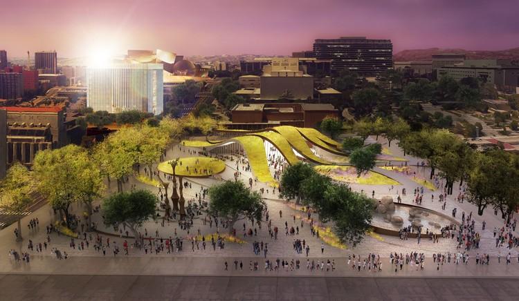 Brooks + Scarpa revelam sua proposta para novo parque no centro de Los Angeles, © Brooks + Scarpa