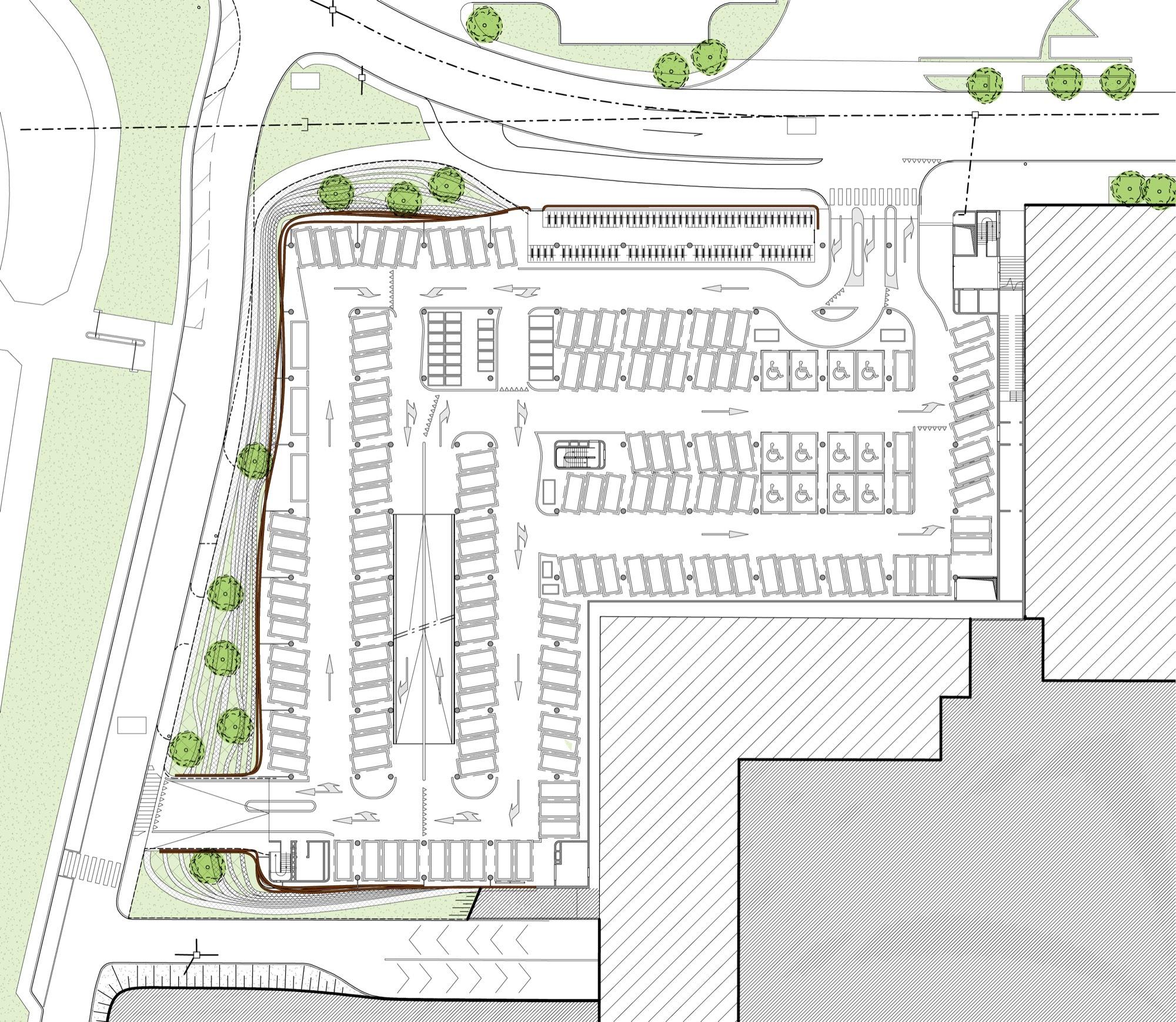 Floor Plans Maker Gallery Of Parking Garage Cliniques Universitaires Saint