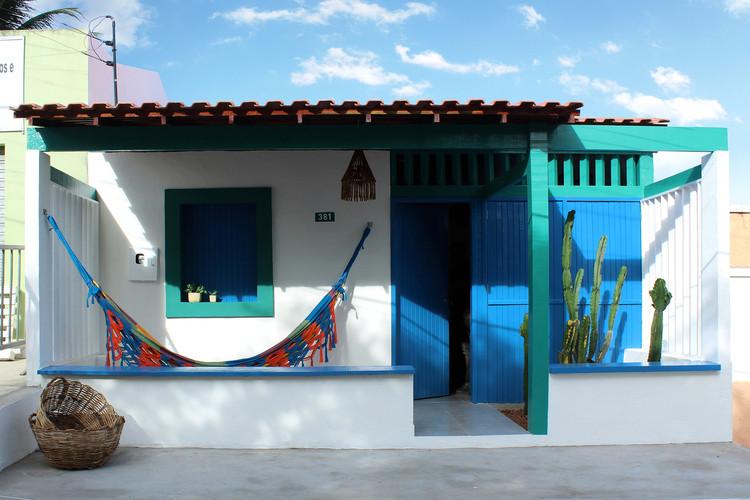 Remodelación de vivienda con materiales regionales en Alagoas, Brasil, © João Duayer & Nathalie Ventura