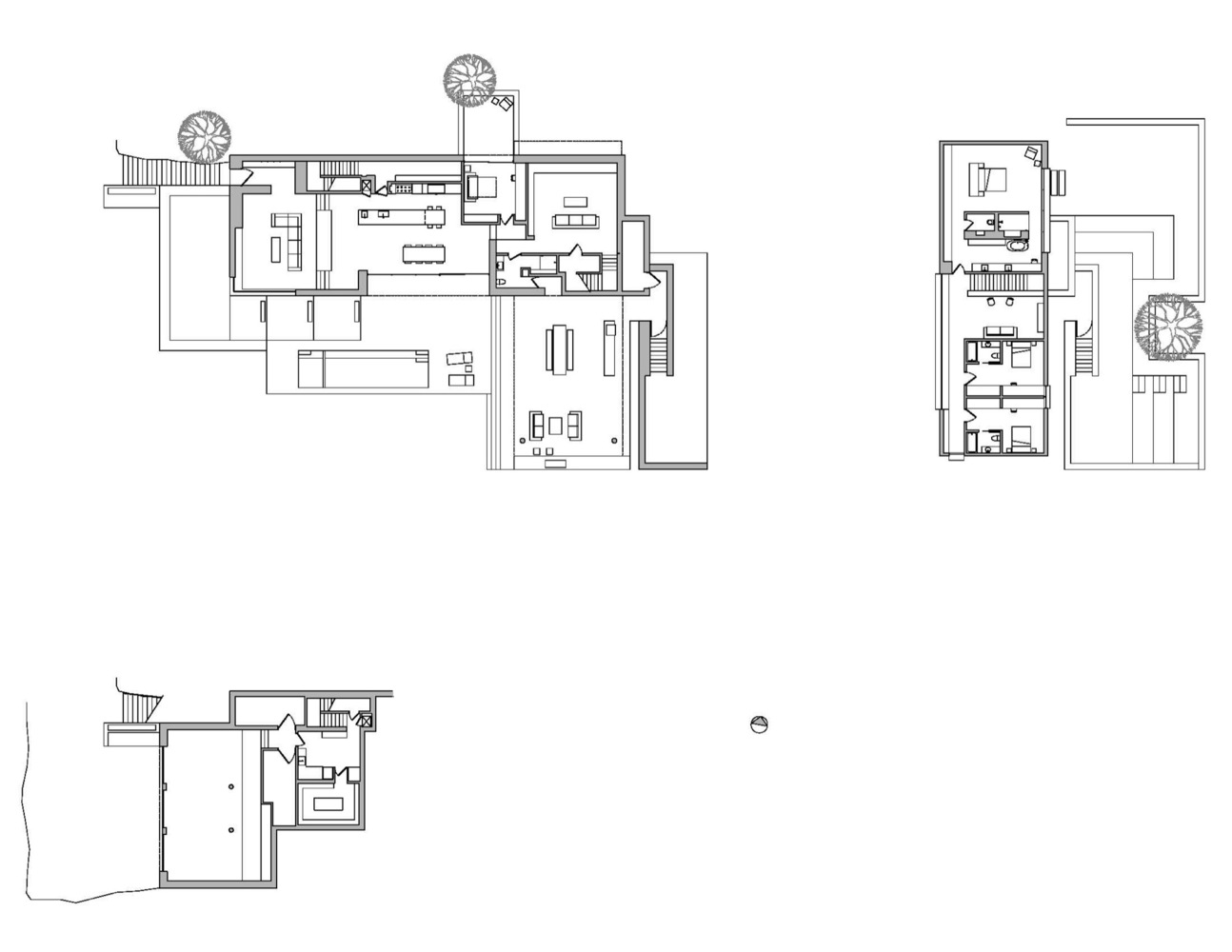 Gallery Of Franklin Mountain House Hazelbaker Rush - Mountain house floor plans