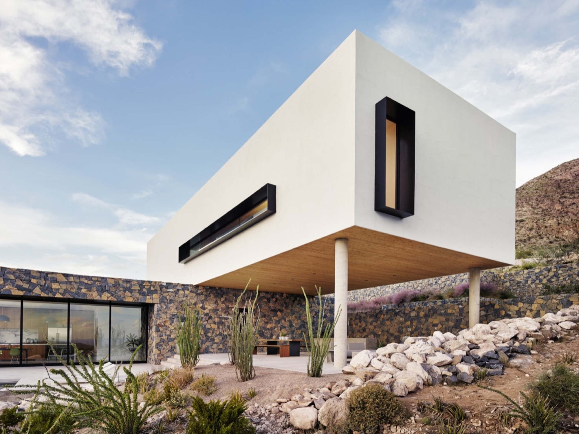 Franklin Mountain House Hazelbaker Rush Archdaily