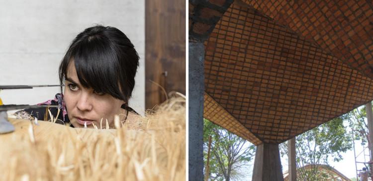 Gloria Cabral: la experimentación material a partir del contexto local, Cortesía de Gloria Cabral y Peter Zumthor / Rolex Mentor and Protégé Arts Initiative & Proyecto Cortesía de Un día | Una Arquitecta